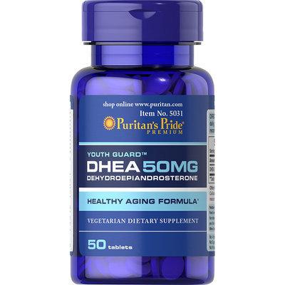 Puritan's Pride 2 Units of DHEA 50 mg-50-Tablets