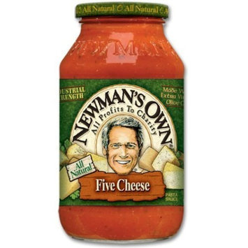 Newman's Own man's Own Five Cheese Pasta Sauce 26 oz (4 pack)