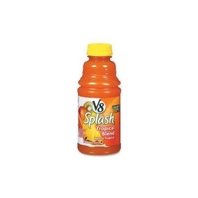 Marjack Marjack V8 Splash Juice Drinks#44; 16oz#44; 12PK#44; Tropical Blend