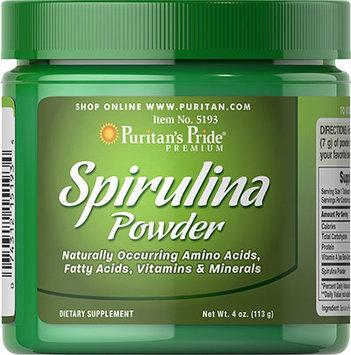 Puritan's Pride 2 Units of Spirulina Powder-4 oz-Powder