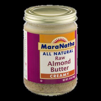 MaraNatha All Natural Raw Almond Butter Creamy