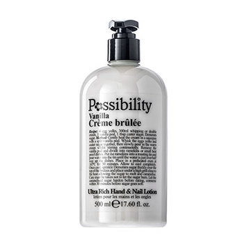 Possibility Vanilla Creme Brulee Hand Lotion 500ml