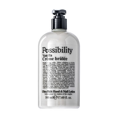 Possibility Vanilla Creme Brulee Hand Lotion 500ml