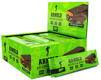 Arnold By Musclepharm Muscle Bar Chocolate Peanut Butter - 12 bars