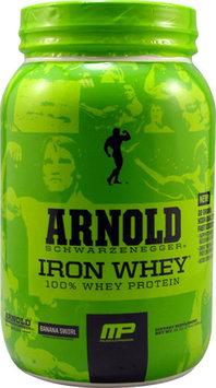Arnold Schwarzenegger Series Iron Whey Banana Swirl 2 lbs
