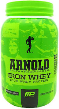 Arnold By Musclepharm Iron Whey Peanut Butter Cup - 2 lb (908g)