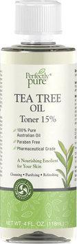 Herbal Authority; 3 Units of Tea Tree Oil Toner 15%-4 fl oz-Liquid