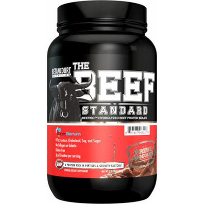 Betancourt Nutrition The Beef Standard, Chocolate, 4 Pound (Pack of 4)