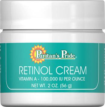 Puritan's Pride 2 Units of Retinol Cream (Vitamin A 100,000 IU Per Ounce)-2 oz-Cream