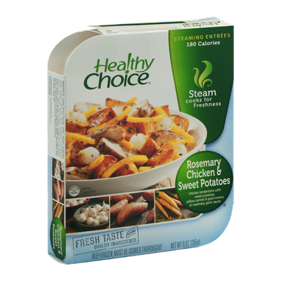 Healthy Choice Steaming Entrees Rosemary Chicken & Sweet Potatoes