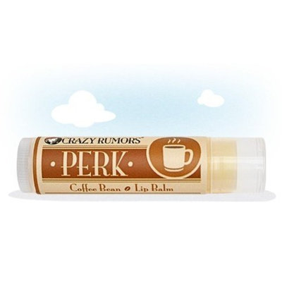 Crazy Rumors Perk Lip Balm Coffee Bean 0.15 Ounces