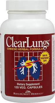 Ridgecrest Herbals Clearlungs-120-Capsules