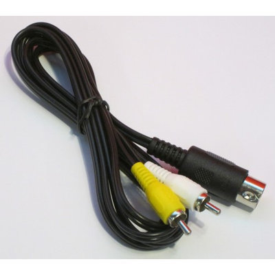 Composite AV Cable for Sega Genesis by Mars Devices
