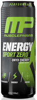 Muscle Pharm 4820166 12 oz. Energy Sport Zero Onys Cherry 12 Per Case