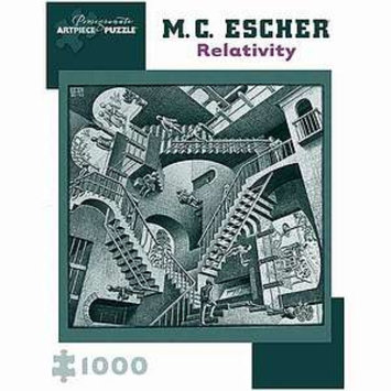 MC Escher Relativity Puzzle 1000 pcs Ages 12 and up, 1 ea