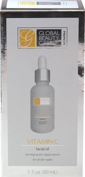 Global Beauty Care Premium Vitamin C Facial Oil-1.7 oz Bottle