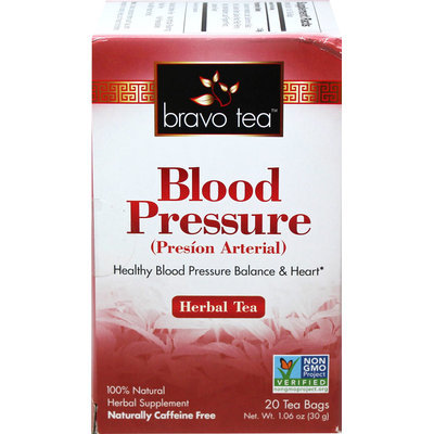 Bravo Tea Blood Pressure Tea-20 Bags