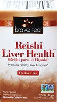 Bravo Tea Reishi Liver Health Tea-20 Bags