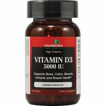 FutureBiotics Vitamin D3 5000 IU 90 Softgels