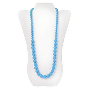 Nixi by Bumkins Ciclo Silicone Teething Necklace - Blue