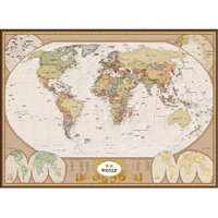 EuroGraphics 6000-1272 Map of the World Puzzle