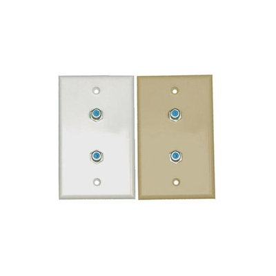 Eagle Aspen Dtvwp-81Di 3 Ghz Wall Plate With Dual Rg6 Connectors