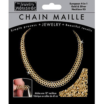The Jewelry Workshop 74430601 Chain Maille Jewelry Kit