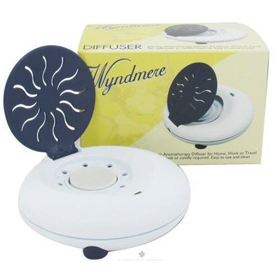 Wyndmere Naturals - Aromatherapy Diffuser Electric 1.5 in. x 5 in. Blue