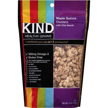 Kind Clusters Maple Walnut with Chia and Quinoa 11 oz Case of 6, (Pack of 6)