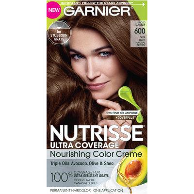 Garnier Nutrisse Ultra Coverage: Spiced Hazelnut, Deep Light Natural Brown