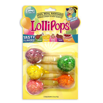 Chewys Chewy's Lollipops Dog Treat (5 - Pack)