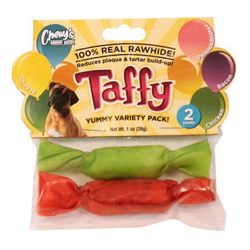 Chewys Taffy Dog Treat Quantity: 2 Count
