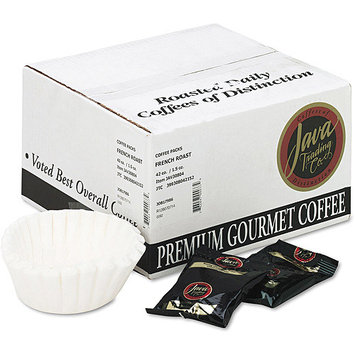 Java Trading Company Coffee French Roast Portion Packs, 1 1/2 Ounces