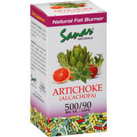 Artichoke Alcachofa 90 Caps 500mg Sanar Naturals Cholesterol and Fat Burning Supplement