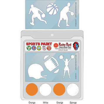 RUBY RED PAINT, INC. College Sports Face Paint