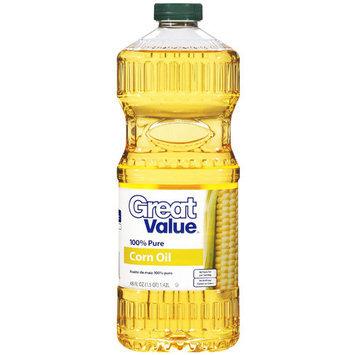 Great Value: Corn Oil, 48 oz
