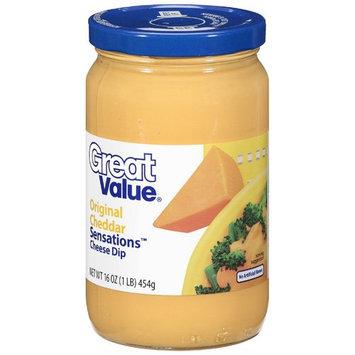 Great Value: Sensations Original Cheddar Cheese Dip, 16 oz