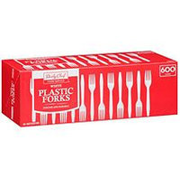 Bakers & Chefs Plastic Forks - 600 ct.
