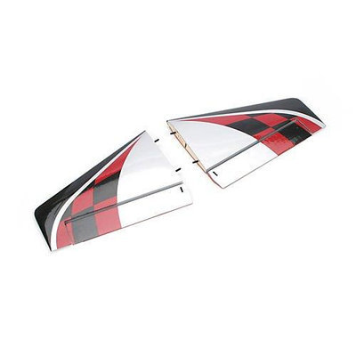 E-flite HorizontlStabilizer L & R Habu32DF Multi-Colored