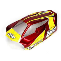 Losi Mini 8IGHT Painted Body Set Red LOSB1336
