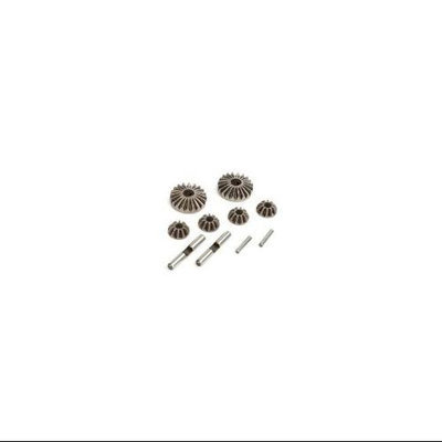 Electrix RC ECX0857 Differential Gear and Shaft Set: Revenge Type E/N New Multi-Colored