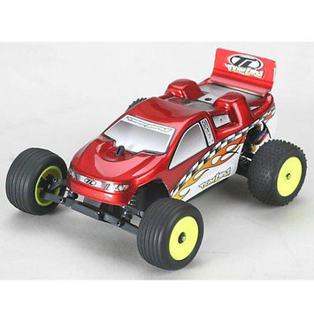 Team Losi Racing 1/36 Micro-T Stadium Truck RTR: Red
