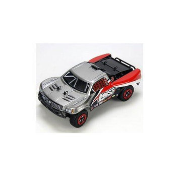 Team Losi Racing 1/24 4WD Short Course Truck RTR: Grey/Black/Red