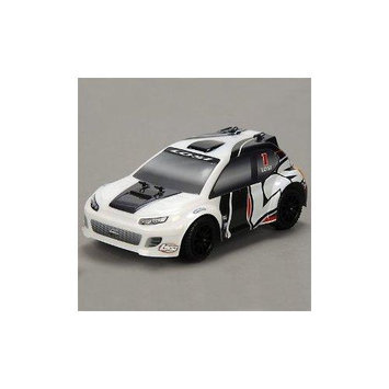 Team Losi Racing Team Losi 1/24 4WD Rally Car RTR: Grey/White