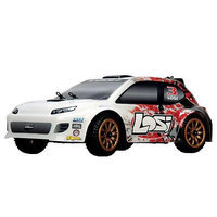 Team Losi Racing 1/24 4WD Rally Car RTR: Red Spatter