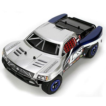 Team Losi Racing 1/24 Micro Brushless SCT RTR: Silver LOSB0242T2