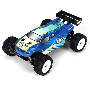 Team Losi Racing Team Losi 1/24 4WD Micro Truggy RTR: Blue