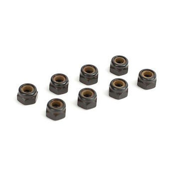Electrix RC ECX0976 4mm Locknuts (8): Revenge Type E/N New ECX0976