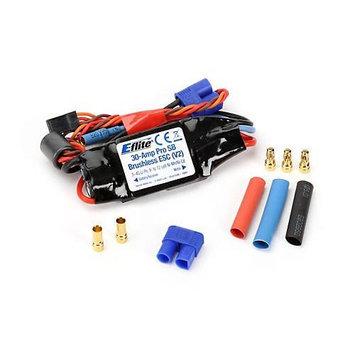30-Amp Pro Switch-Mode BEC Brushless ESC (V2) EFLA1030B E-FLITE