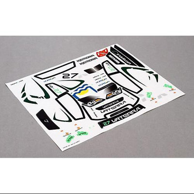 Kemora RallyCross Sticker Sheet VTR219000 VATERRA